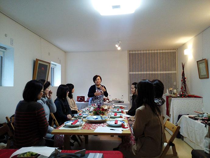 和のテーブルコーディネート教室を開催しました